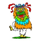 Раскраска Карнавальные костюмы