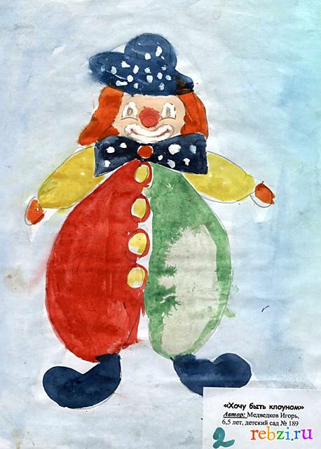 Рисунки клоунов раскраски 116