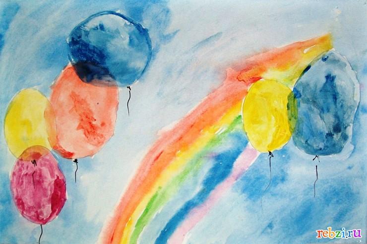 Детские рисунки фестиваль детский