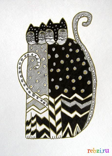 Фестиваль детских рисунков / кошки.