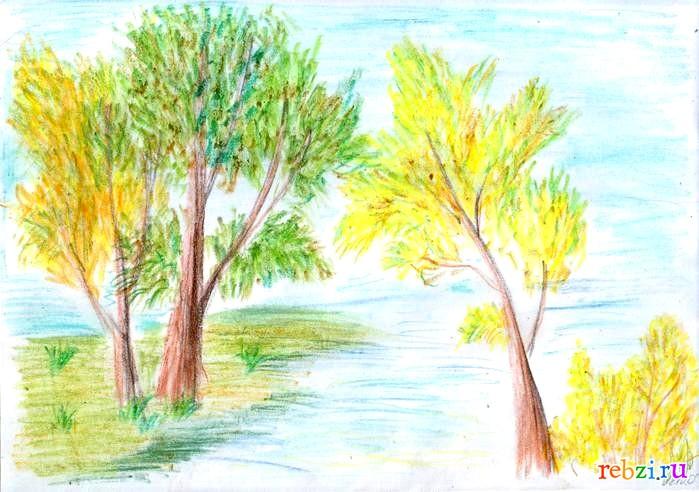 картинки рисунки про осень