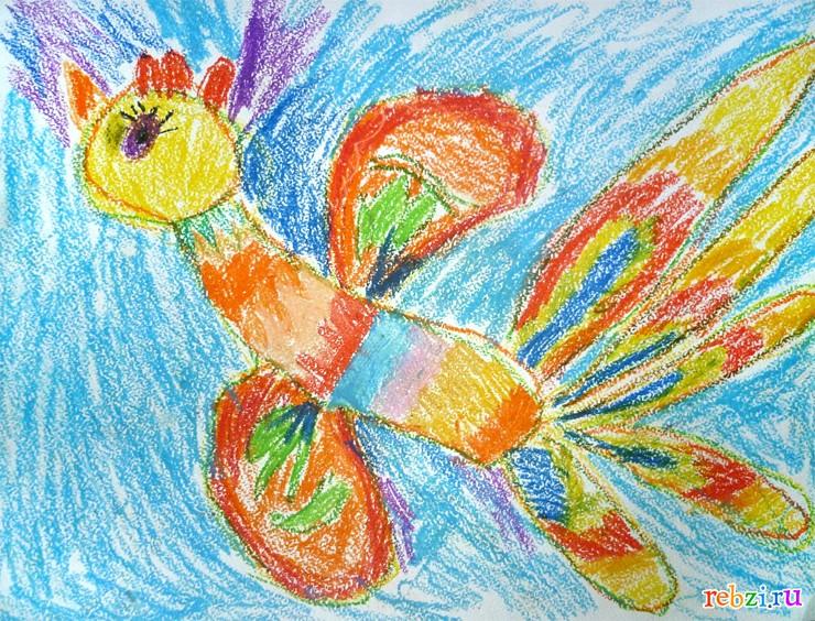 Детские рисунки - фестиваль. Детский рисунок / Жар-птица: http://rebzi.ru/festival/5237/