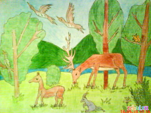 Детский рисунок максим