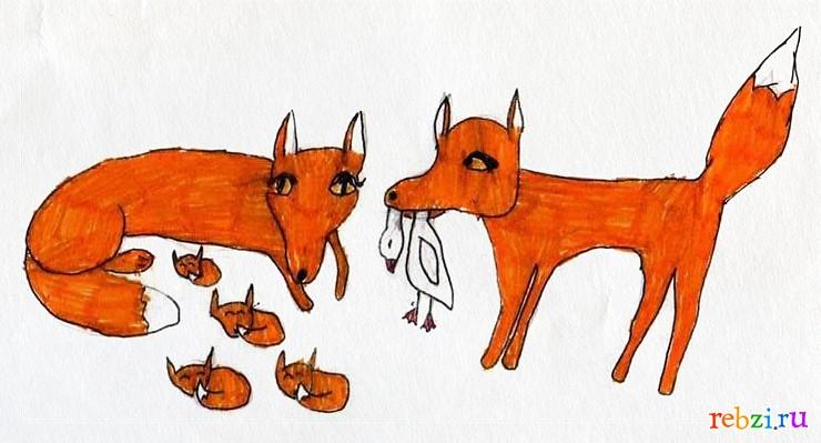 Голосовать за рисунок рисунок лиса